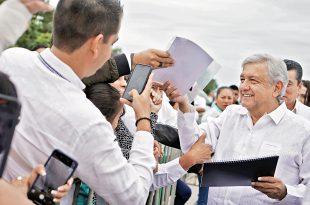 Aumenta López Obrador en 53% gasto en publicidad