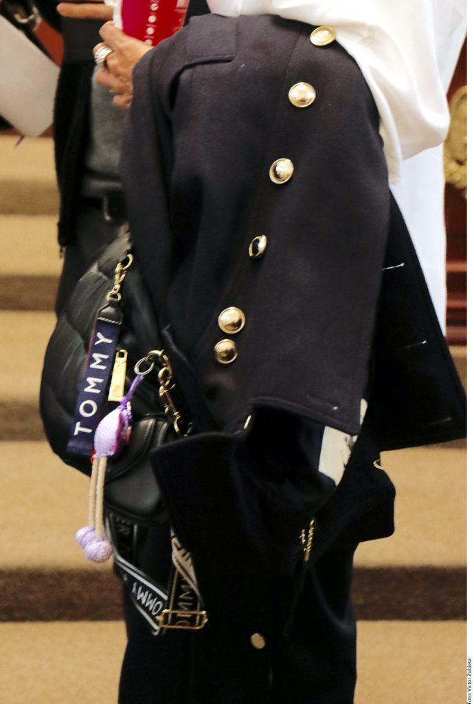 Diputada de Morena, llegó al Congreso con outfit de, al menos,.... ¡22 mil pesos!