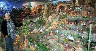 Con 5 mil piezas, ponen un nacimiento gigante en Tula