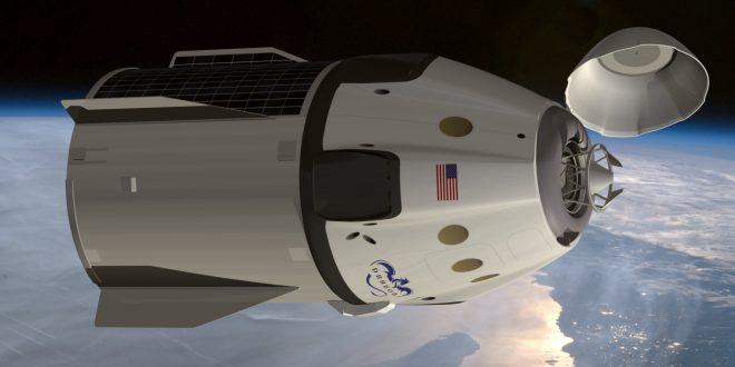 Despega la nave Dragon con suministros para la Estación Espacial