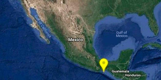 Se registra leve sismo al sureste de Huejutla