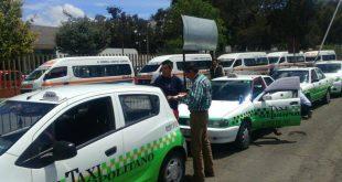 Descartan aumento en la tarifa de taxis en Pachuca