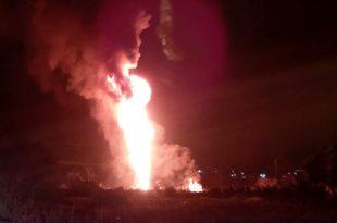 Incendio San Agustín Tlaxiaca