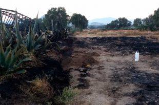 Se incendia toma clandestina en la Pachuca-Tulancingo