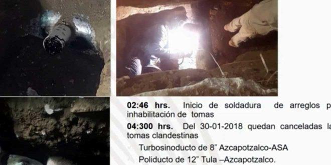 Así eran las tomas ilegales halladas en Azcapotzalco