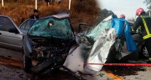 Dos muertos tras choque en Tulancingo