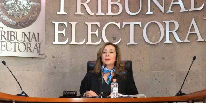 María Luisa Oviedo es la primer mujer elegida presidenta del Tribunal Electoral de Hidalgo