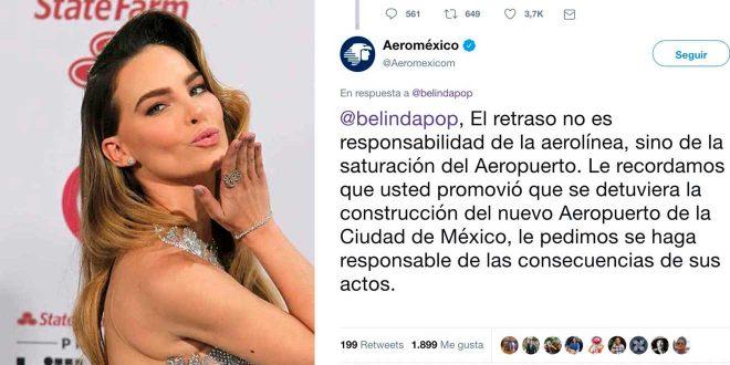 Es falso el tuit de Aeroméxico para Belinda ¿lo compartiste?