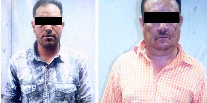 Detienen a dos sujetos por portación ilegal de armas de fuego en Hidalgo