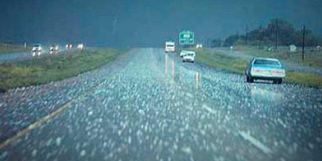 Se espera granizo para este martes en algunas zonas de Hidalgo