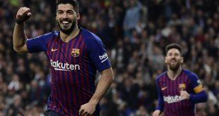 Goleada de Barcelona en el Bernabéu
