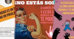 Negocios de Pachuca ofrecen ayudar a mujeres en situación de peligro