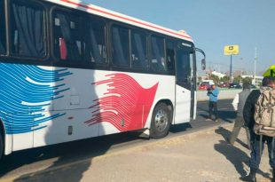 Asaltan autobús de la línea Tuzayuca en la Pachuca-Tulancingo