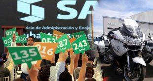 Subasta Gobierno vehículos de lujo en Santa Lucía