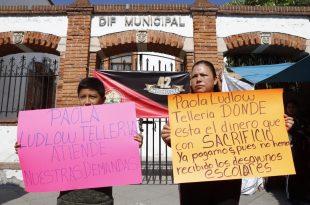 Manifestación DIF Pachuca
