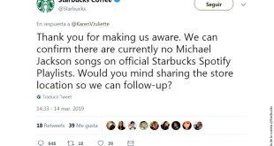 Ya no más Michael Jackson en Starbucks