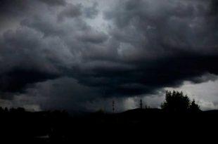 Se esperan posibles tormentas para este jueves en Hidalgo