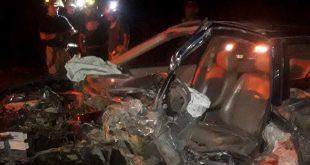 Un prensado tras accidente en la carretera Tula-Tepeji
