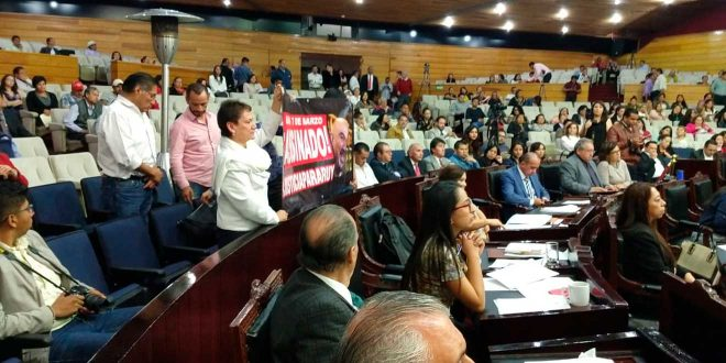 A un año de la muerte de Ruy Lohengrin familiares se manifiestan en el Congreso