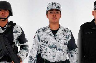 Así son los uniformes que usará la Guardia Nacional