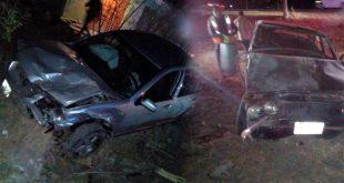 Un lesionado tras accidente en la Pachuca-Actopan