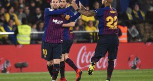 Rescata Barcelona un punto ante Villarreal