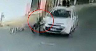 Automovilista atropella a menor en Puebla