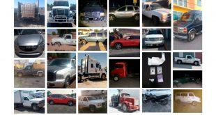Asegura SSPH a cuatro presuntos delincuentes; recuperan 24 vehículos robados