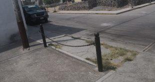 Alcaldía de Tulancingo dice que bloquear con cadenas es legal