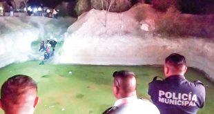 Saltó para rescatar a su hermano y falleció en jagüey de Mineral de la Reforma
