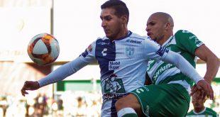Pachuca perdona a Santos; sigue en zona de liguilla