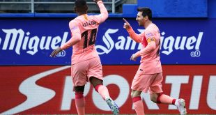 Acaricia Messi su sexta Bota de Oro
