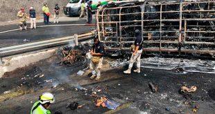 Eran peregrinos víctimas de accidente en Veracruz