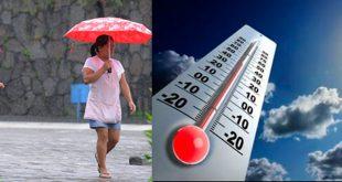 Calor y algunas lluvias para este miércoles en Hidalgo