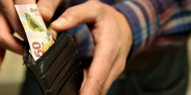 El salario en Hidalgo está 14.79% debajo de la media nacional