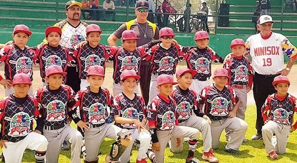 MiniSox, monarcas infantiles de beisbol
