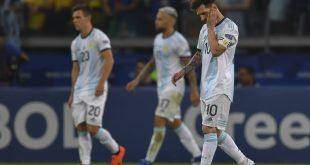 Che calvario en Copa América
