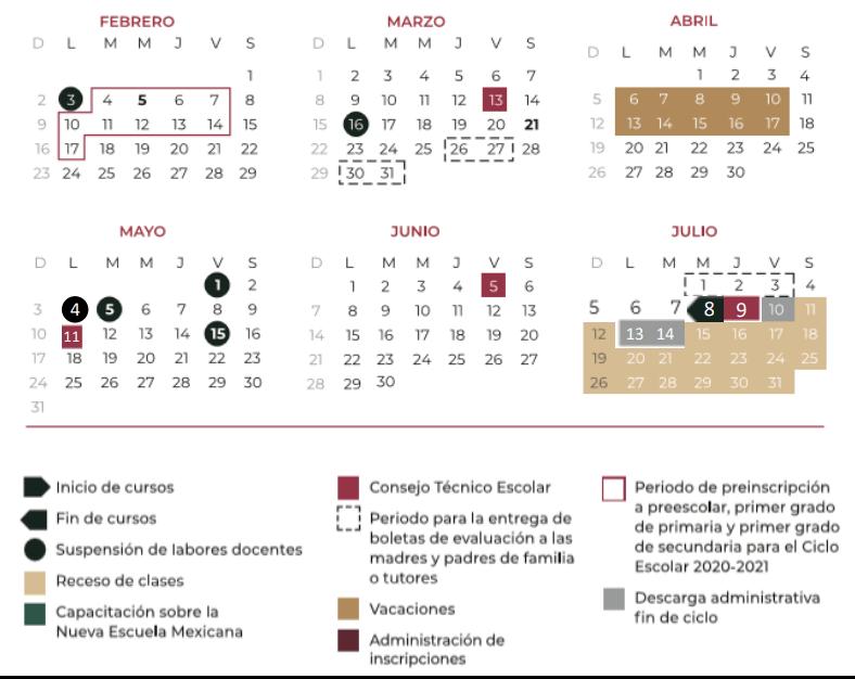 Calendario Escolar 2020 Sep Oficial.Conoce El Calendario Escolar De La Sep Para El Ciclo 2019 2020
