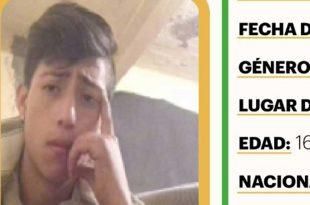 Activan Alerta Amber en favor de Juan Diego Vargas González