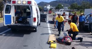 Atropellan a hombre en la Pachuca-Actopan