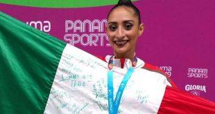 Obtiene Karla Díaz bronce en gimnasia rítmica