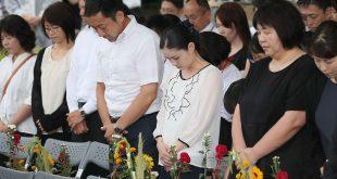 Conmemora Japón 74 aniversario del bombardeo en Hiroshima