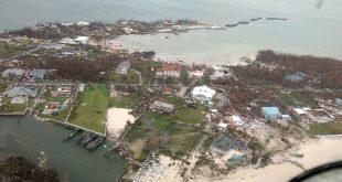 Así se ve Bahamas tras el paso de Dorian