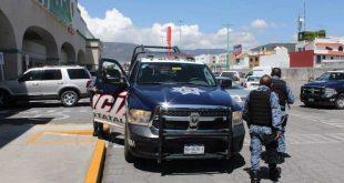Movilización tras intento de robo en tienda de autoservicio en Pachuca