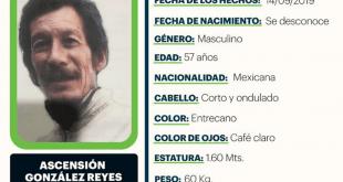 Se busca a Ascensión González Reyes, desapareció en Actopan