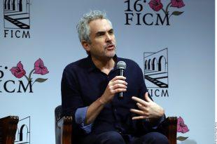 Ficha Apple TV+ a Alfonso Cuarón